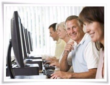 Cursos de computación para adultos mayores grupales - Estudio Desde Casa