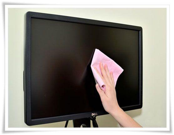 Concejos de como se puede limpiar un monitor - Estudio Desde Casa