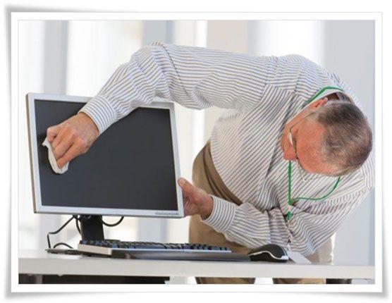 Cómo limpiar un monitor de computadora - Estudio Desde Casa