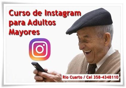 Curso de Instagram Para Adultos Mayores en Río Cuarto - Estudio Desde Casa - Lic. Natalia Escobar 358-348108