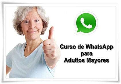 Curso de WhatsApp para Adultos Mayores - Estudio Desde Casa