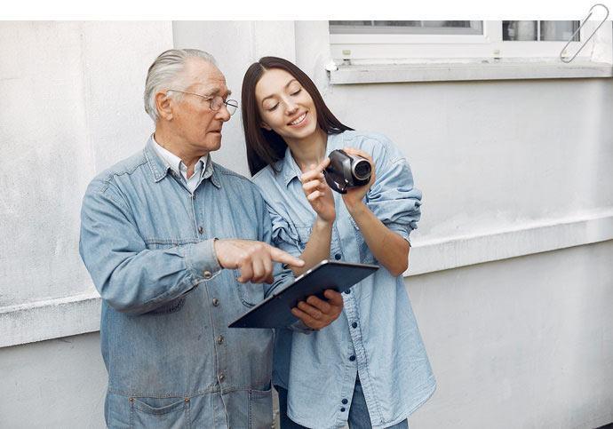 Ventajas y Desventajas de las Tics en los Adultos Mayores - Estudio Desde Casa